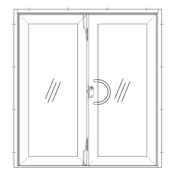 Dubbel Dörr